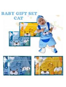 KB0004W - Baby Gift Newborn Set Hadiah Perlengkapan Bayi (Cat)