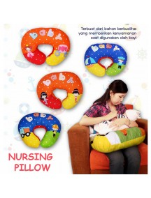 KB0007W - Nursing Pillow / Breastfeeding Pillow Bantal Menyusui Embroidery