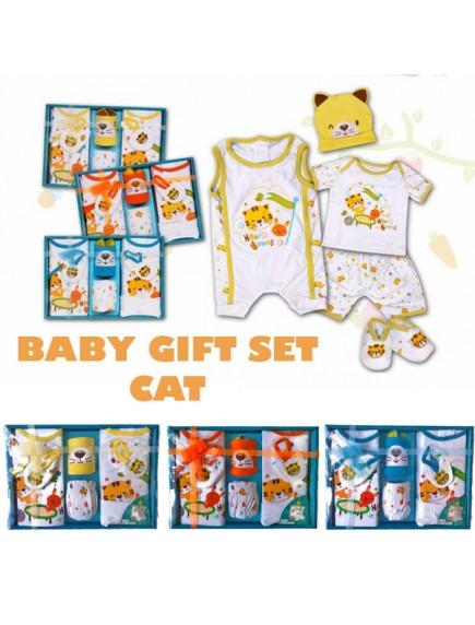 KB0011W - Baby Gift Newborn Set Hadiah Perlengkapan Bayi (Kitty)