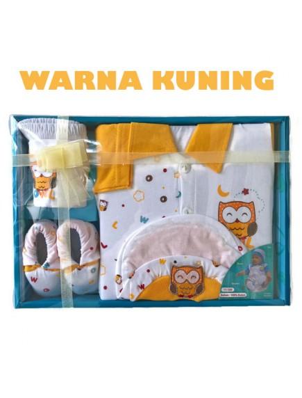 KB0012W - Baby Gift Newborn Set Hadiah Perlengkapan Bayi (Owl)