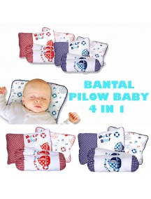 KB0014W - Baby Gift Pillow Set Bantal 4 in 1
