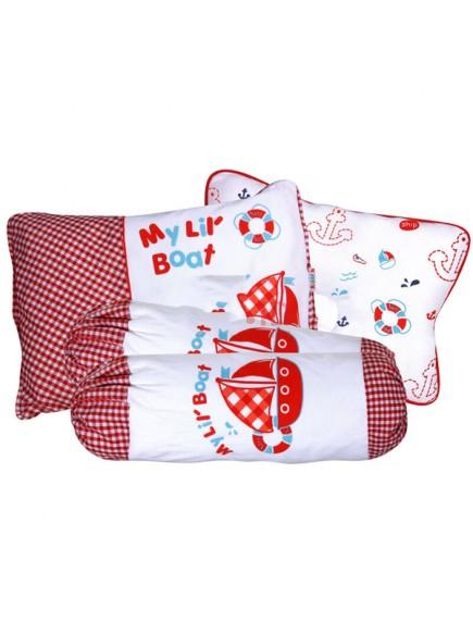KB0014W - Baby Gift Pillow Set Bantal 4 in 1