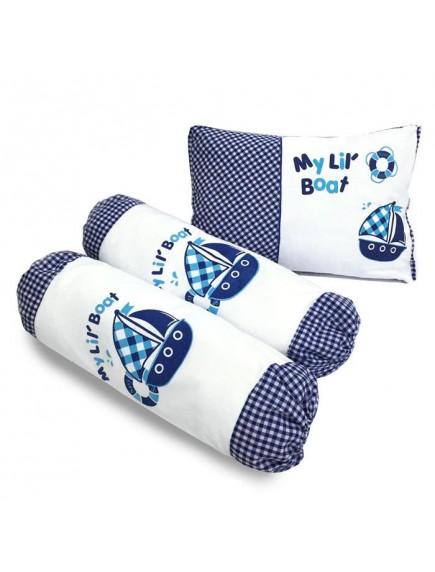 KB0015W - Baby Gift Pillow Set Bantal 3 in 1