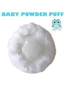 KB0018 - Baby Powder Puff Tepukan Bedak Gagang Bayi