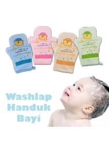 KB0020W - Washlap Jari Handuk Lap Bayi (Bear)