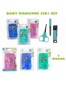 KB0024W - Gunting Kuku Manicure Bayi Pooh 3in1 Set