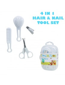 KB0025 - Hair & Nail Tool Manicure Bayi Pooh 4in1 Set