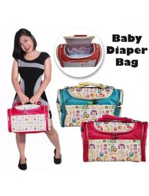 KB0029W - Travelling Diaper Bag Tas Perlengkapan Bayi Karakter