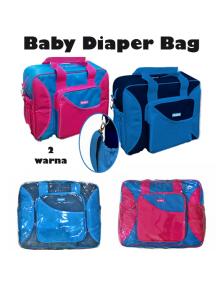 KB0030W - Travelling Diaper Bag Tas Perlengkapan Bayi 2-Color