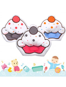 KB0033W - Bantal Bayi Baby Pillow Cupcake