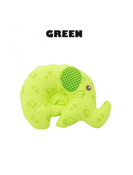 KB0034W - Bantal Bayi Baby Pillow Gajah