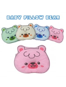 KB0038W - Bantal Bayi Baby Pillow Bear
