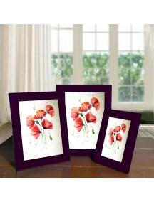 BK1003W - Bingkai Foto / Frame Foto Minimalis Size 4R