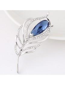 RBR1301 - Aksesoris Bross Leaf Diamond
