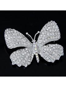 RBR1309 - Aksesoris Bross Kupu Kupu Diamond