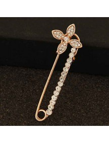 RBR1347 - Aksesoris Bross Crystal Flower