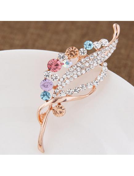 RBR1359 - Aksesoris Bross Hijab Crystal Elegant Diamond