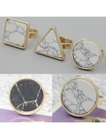 RCC1025W - Cincin Round Stone Ring