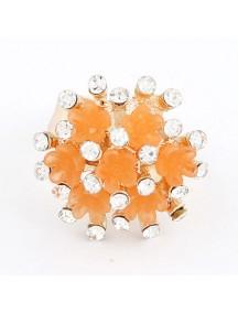 RCC2133 - Aksesoris Cincin Bunga Diamond