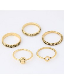 RCC2930 - Aksesoris Cincin Fashion Multi Ring