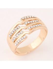 RCC2942 - Aksesoris Cincin Fashion Flash Diamond