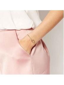 RGB1005W - Aksesoris Gelang Twist Bracelet