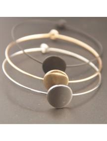 RGB1015W - Gelang Geometry Round Bracelet