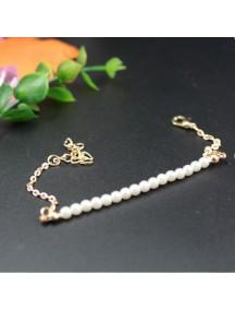 RGB1021 - Aksesoris Gelang Pearl Gold Bracelet