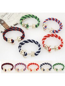 RGB1032W - Aksesoris Gelang Anchor Braid Bracelet
