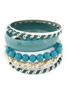 RGB1118 - Aksesoris Gelang Multilayer Beads