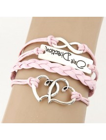 RGB3916 - Aksesoris Gelang Layer Double Love