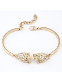 RGB4238 - Aksesoris Gelang Panther Diamond