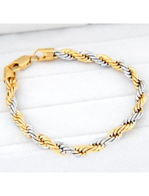 RGB4255 - Aksesoris Gelang Twist Metal