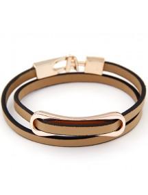RGB5034 - Aksesoris Gelang Simpel Leather