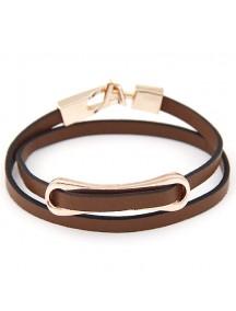RGB5037 - Aksesoris Gelang Simpel Leather
