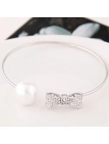 RGB5564 - Aksesoris Gelang Bow Pearl