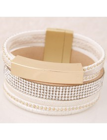 RGB5586 - AKsesoris Gelang Multilayer Metal