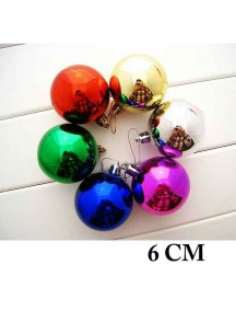 HO1364 - Christmas Tree Ornament Bola Natal (6 CM)