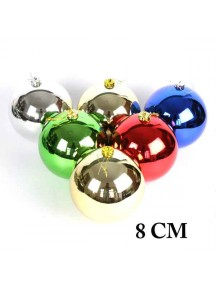 HO1365 - Christmas Tree Ornament Bola Natal (8 CM)
