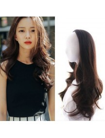 HO1398 - Hair Clips Ekstension Half-Head Brown