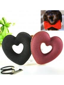 HO1402W - Hair Bun Styler Heart