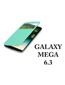 HO1404 - Window Flip Case Galaxy Mega 6.3 GT-I9200/GT-19208