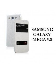 HO1406 - Window Flip Case Galaxy Mega 5.8 GT-I9152/GT-19158