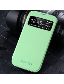 HO1409 - Window Flip Case Galaxy S4 (Green)