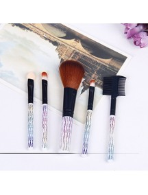 HO1428 - Travel Size Make Up Brush Set (5 pcs)