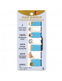 HO5047W - Nail Sticker Kuku Fashion