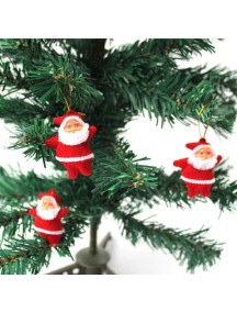 HO5089 - Christmas Tree Decoration Santa Ornament Natal