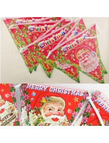 HO5091 - Christmas Decoration Hanging Flags (Large)