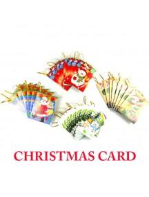 HO5096 - Christmas Decoration Card (10 pcs)