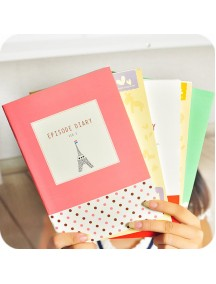 HO5018W - Buku Notebook / Notepad Korea Cute